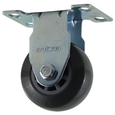 RODIZIO-210BP-FIXO-PLACA-FLP-1497-RODA-PVC-COLSON
