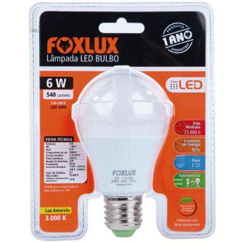 LAMPADA-LED-06W-6500K-BIVOLT-90.05-FOXLUX