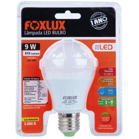 LAMPADA-LED-09W-6500K-BIVOLT-90.07-FOXLUX
