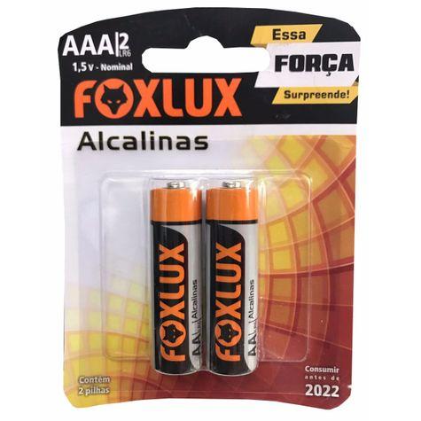 PILHA-AAA-ALCALINA-02PCS-95.04-FOXLUX