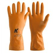 LUVA-DE-LATEX-ORANGE-T.08-M-KALIPSO