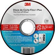 DISCO-CORTE-115-X-1.0-X-22-INOX-FINO-PLUS-3M